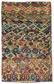 Moroccan Berber - Afghanistan Rug 117X182 Authentic  Modern Handknotted Dark Grey/Light Grey (Wool, Afghanistan)