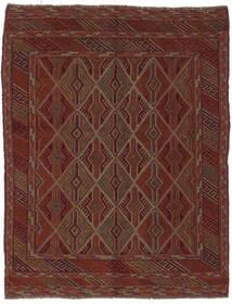 Kilim Golbarjasta Rug 150X197 Authentic  Oriental Handwoven Black/Dark Brown (Wool, Afghanistan)
