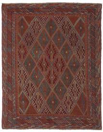Kilim Golbarjasta Rug 143X183 Authentic  Oriental Handwoven Black/Dark Brown (Wool, Afghanistan)