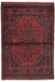 Afghan Khal Mohammadi Rug 96X147 Authentic  Oriental Handknotted Black/Dark Brown (Wool, Afghanistan)
