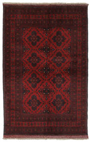 Afghan Khal Mohammadi Rug 130X195 Authentic  Oriental Handknotted Black (Wool, Afghanistan)