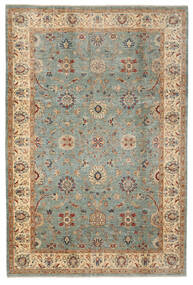 Ziegler Ariana Rug 205X305 Authentic  Oriental Handknotted Dark Green/Dark Brown (Wool, Afghanistan)