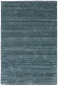 Handloom Fringes - Secondary Rug 160X230 Modern Black/Dark Blue (Wool, India)