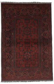 Afghan Khal Mohammadi Rug 100X151 Authentic  Oriental Handknotted Black (Wool, Afghanistan)