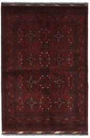 Afghan Khal Mohammadi Rug 130X192 Authentic  Oriental Handknotted Black (Wool, Afghanistan)