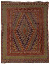 Kilim Golbarjasta Rug 150X190 Authentic  Oriental Handwoven Black/Dark Brown (Wool, Afghanistan)