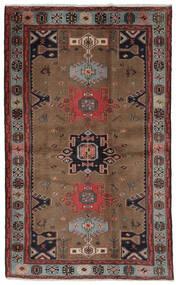 Hamadan Rug 121X191 Authentic Oriental Handknotted Dark Brown/Black (Wool, Persia/Iran)