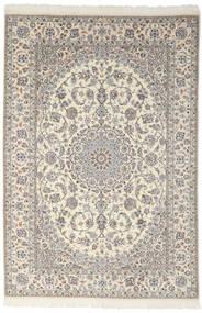 Nain 9La Rug 200X301 Authentic  Oriental Handknotted Dark Grey/Light Grey (Wool/Silk, Persia/Iran)