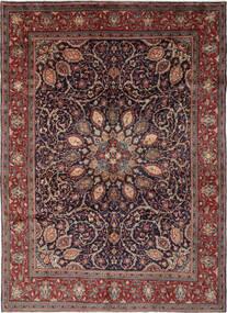 Mahal Rug 270X364 Authentic Oriental Handknotted Black/Dark Brown Large (Wool, Persia/Iran)
