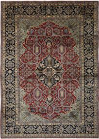 Najafabad Rug 293X408 Authentic  Oriental Handknotted Black/Dark Brown Large (Wool, Persia/Iran)