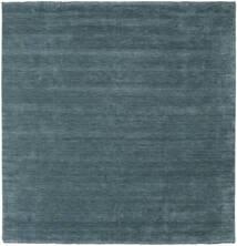 Handloom Fringes - Secondary Rug 250X250 Modern Square Dark Blue Large (Wool, India)