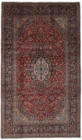 Keshan Rug 193X333 Authentic  Oriental Handknotted Black/Dark Brown (Wool, Persia/Iran)