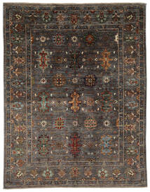 Ziegler Ariana Rug 158X204 Authentic  Oriental Handknotted Black/Dark Brown (Wool, Afghanistan)