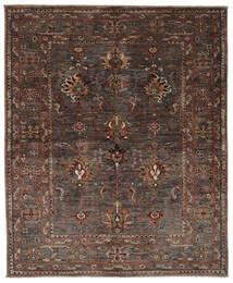 Ziegler Ariana Rug 161X194 Authentic  Oriental Handknotted Black/Dark Brown (Wool, Afghanistan)