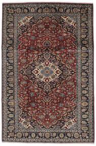 Najafabad Rug 210X314 Authentic  Oriental Handknotted Black/Dark Brown (Wool, Persia/Iran)