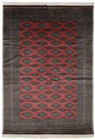 Pakistan Bokhara 3Ply Rug 188X262 Authentic  Oriental Handknotted Black/Dark Brown (Wool, Pakistan)