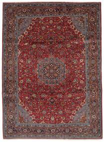 Sarouk Rug 219X300 Authentic  Oriental Handknotted Black/Dark Brown (Wool, Persia/Iran)