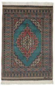 Pakistan Bokhara 2Ply Rug 78X116 Authentic  Oriental Handknotted Black/Dark Brown (Wool, Pakistan)