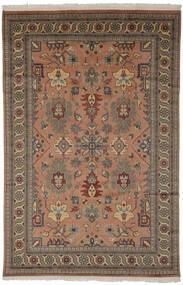 Pakistan Bokhara 2Ply Rug 185X274 Authentic  Oriental Handknotted Dark Brown/Black (Wool, Pakistan)