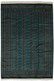 Pakistan Bokhara 2Ply Rug 190X270 Authentic  Oriental Handknotted Black (Wool, Pakistan)