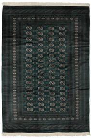 Pakistan Bokhara 2Ply Rug 190X277 Authentic  Oriental Handknotted Black (Wool, Pakistan)