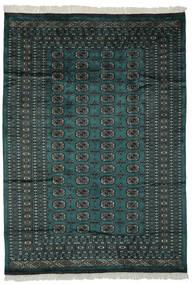 Pakistan Bokhara 2Ply Rug 180X255 Authentic  Oriental Handknotted Black/Dark Green (Wool, Pakistan)
