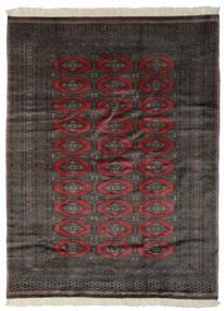 Pakistan Bokhara 3Ply Rug 191X249 Authentic  Oriental Handknotted Black/Dark Brown (Wool, Pakistan)
