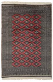 Pakistan Bokhara 2Ply Rug 183X262 Authentic  Oriental Handknotted Black/Dark Grey (Wool, Pakistan)