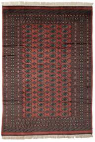 Pakistan Bokhara 2Ply Rug 189X267 Authentic  Oriental Handknotted Black/Dark Brown (Wool, Pakistan)