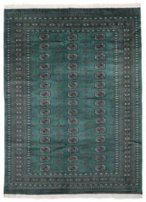 Pakistan Bokhara 2Ply Rug 170X229 Authentic  Oriental Handknotted Black/Dark Turquoise   (Wool, Pakistan)