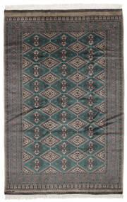 Pakistan Bokhara 2Ply Rug 161X243 Authentic  Oriental Handknotted Black/Dark Brown (Wool, Pakistan)