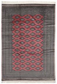 Pakistan Bokhara 2Ply Rug 183X255 Authentic  Oriental Handknotted Black/Dark Red (Wool, Pakistan)