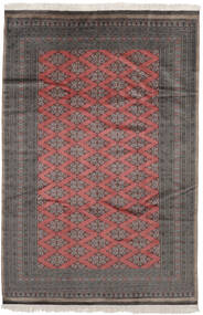 Pakistan Bokhara 2Ply Rug 185X279 Authentic  Oriental Handknotted Black/Dark Red (Wool, Pakistan)