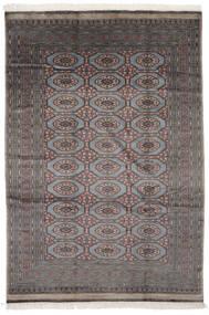 Pakistan Bokhara 2Ply Rug 184X270 Authentic  Oriental Handknotted Black/Dark Grey (Wool, Pakistan)