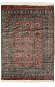 Pakistan Bokhara 3Ply Rug 175X240 Authentic Oriental Handknotted Dark Brown/Black (Wool, Pakistan)