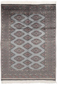Pakistan Bokhara 2Ply Rug 125X176 Authentic  Oriental Handknotted Black/Dark Grey (Wool, Pakistan)