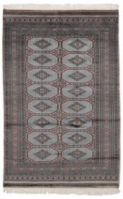 Pakistan Bokhara 2Ply Rug 122X188 Authentic  Oriental Handknotted Black (Wool, Pakistan)