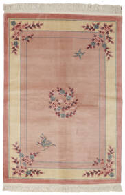 China 90 Line Rug 140X200 Authentic  Oriental Handknotted Dark Brown/Brown (Wool, China)