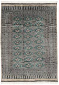 Pakistan Bokhara 3Ply Rug 175X240 Authentic  Oriental Handknotted Black/Dark Grey (Wool, Pakistan)