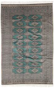 Pakistan Bokhara 3Ply Rug 158X245 Authentic  Oriental Handknotted Black/Dark Grey (Wool, Pakistan)