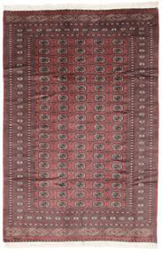 Pakistan Bokhara 2Ply Rug 190X281 Authentic  Oriental Handknotted Dark Brown/Dark Red (Wool, Pakistan)