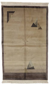 China 90 Line Rug 152X244 Authentic  Oriental Handknotted (Wool, China)