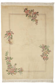 China 90 Line Rug 170X230 Authentic  Oriental Handknotted Light Brown (Wool, China)
