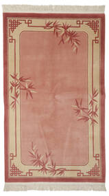 China 90 Line Rug 140X230 Authentic  Oriental Handknotted Rust Red/Dark Red (Wool, China)
