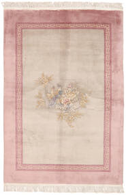 China 90 Line Rug 140X200 Authentic  Oriental Handknotted Light Brown/Dark Red (Wool, China)