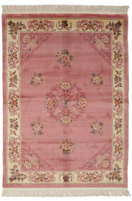 China 90 Line Rug 170X230 Authentic  Oriental Handknotted Dark Red/Brown (Wool, China)
