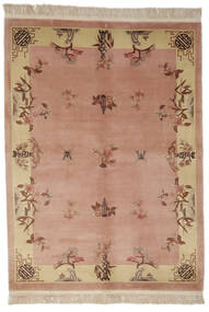 China 90 Line Rug 170X230 Authentic  Oriental Handknotted Brown/Dark Brown (Wool, China)