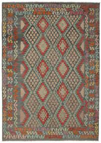 Kilim Afghan Old Style Rug 210X295 Authentic  Oriental Handwoven (Wool, Afghanistan)