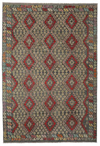 Kilim Afghan Old Style Rug 205X295 Authentic  Oriental Handwoven (Wool, Afghanistan)