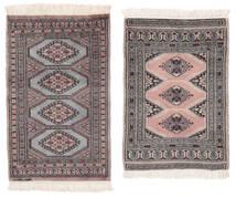 Pakistan Bokhara 2Ply Rug 61X98 Authentic  Oriental Handknotted (Wool, Pakistan)